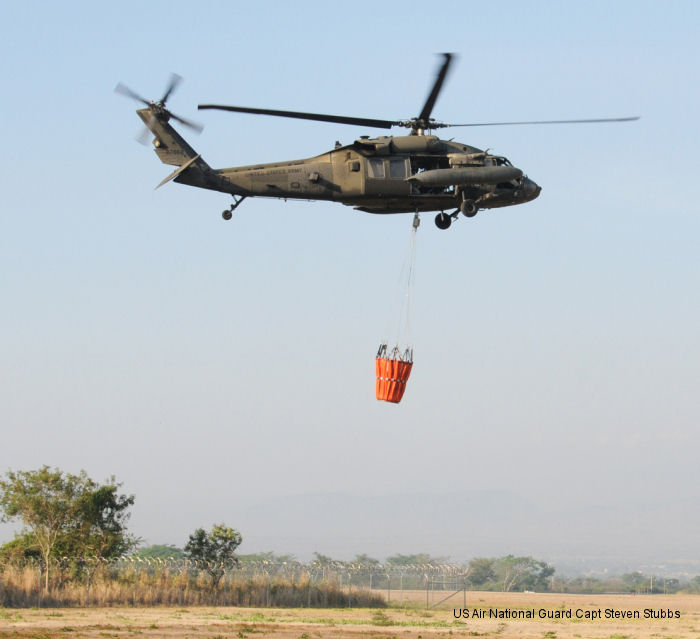 Joint Task Force-Bravo 1-228th Aviation Regiment helps protect Honduran village from fire
