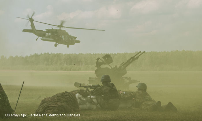 US and Canadians Paratroopers in Poland
