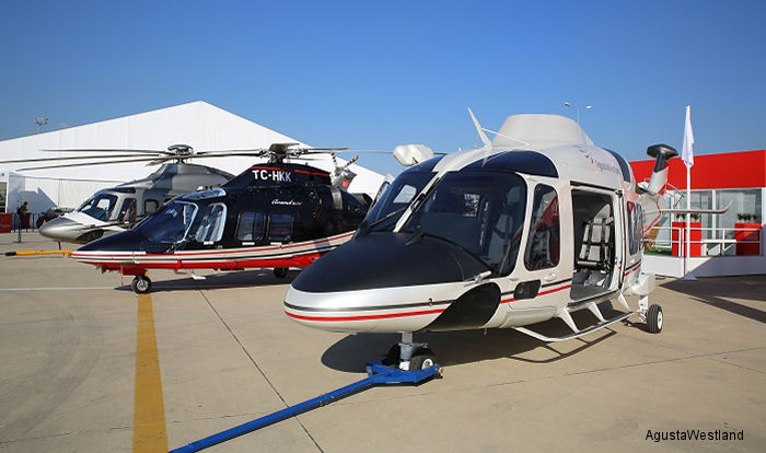 AgustaWestland Exhibits Its Market Leading Commercial Helicopters at Istanbul Airshow 2014