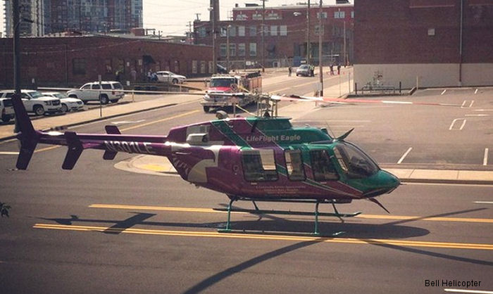Bell Helicopter Displays Latest HEMS Technology at AMTC 2014