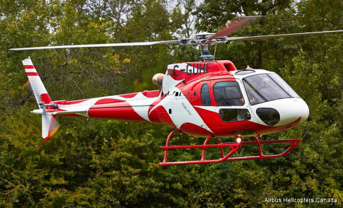 Airbus Helicopters Canada Delivers AS350 for Muti-Mission Use