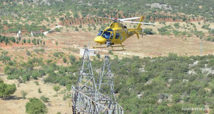 HeliStar to Operate AW119Ke Helicopters to Perform Electricity Infrastructure Aerial Monitoring for Teias in Turkey