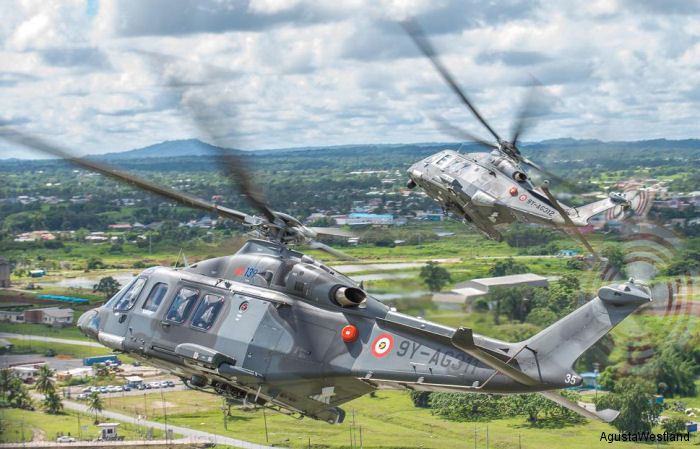 Trinidad and Tobago Air Guard AW139