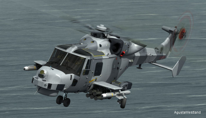 AgustaWestland Awarded AW159 Wildcat FASGW Missile Integration Contract