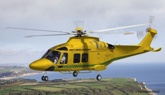 Dorset and Somerset Air Ambulance Selects the AW169 for Its Emergency Medical Service Requirement