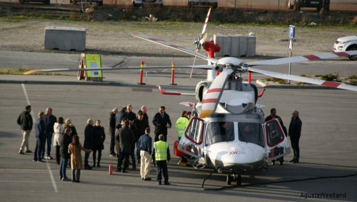 AW189 Completes Successful North Sea Demo Tour