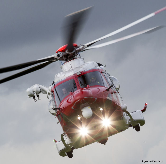 AW189 SAR Variant Achieves EASA Certification