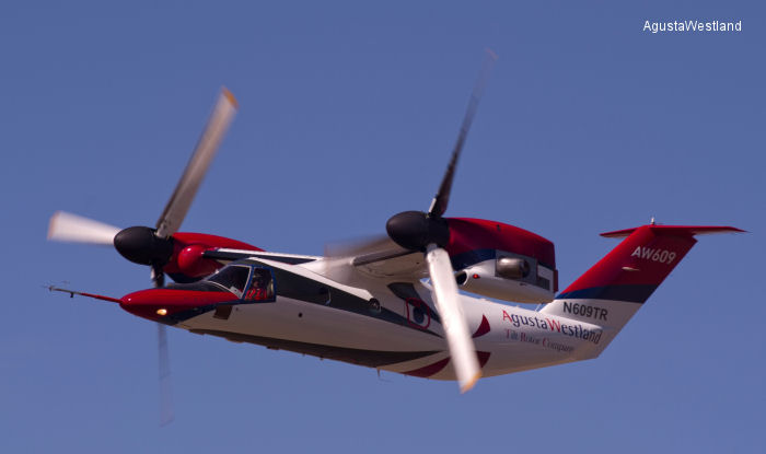 AW609 TiltRotor Completes Envelope Expansion Flight Trials and Progresses To FAA Certification Flying Phase