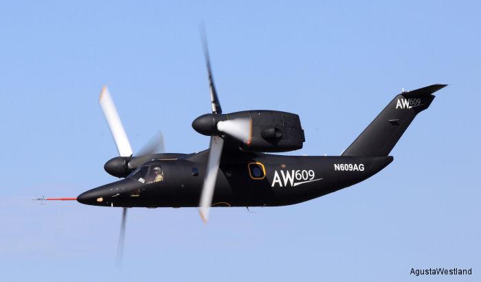 AgustaWestland AW609 c/n 60002