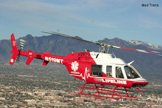 Med-Trans takes delivery of Bell 407GX from Wysong Enterprises