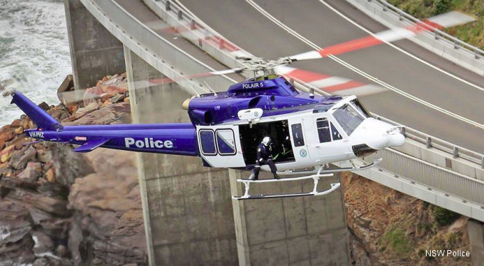 NSW Police launches two new aircraft; POLAIR 5 and POLAIR 7