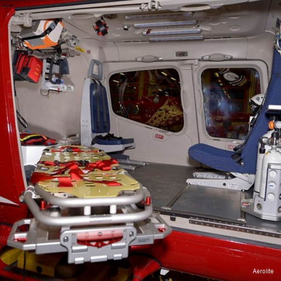 Strong Demand for Bell 429 EMS interiors