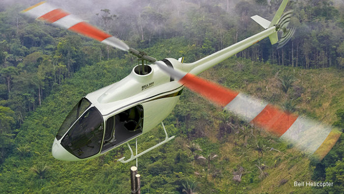 Bell Helicopter Sells Five Bell 505 Jet Ranger X Aircraft to Aerochine