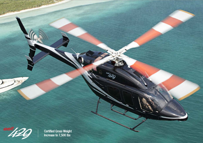 Bell Helicopter Wins Contract with NYPD for Four Bell 429s