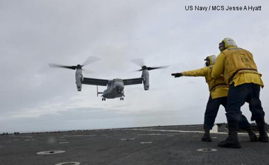BHELMA IV conduct carrier landings with USMC