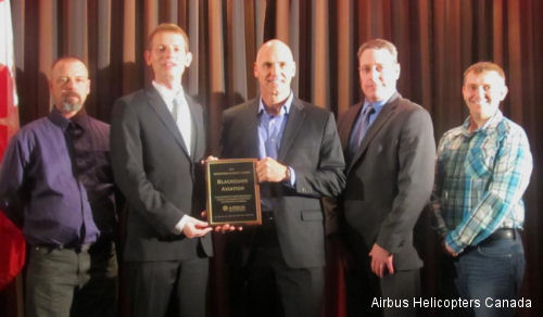 "Blackcomb Aviation wins the Airbus Helicopter Canada ""Innovation in Safety"" Award"