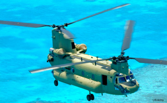 CH-47F Chinook arrived at Soto Cano Honduras