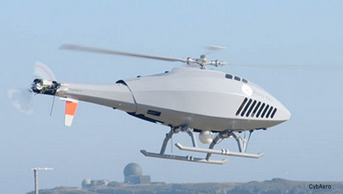 CybAero APID 60 is a remotely piloted aircraft system (RPAS) and an autonomous, unmanned helicopter (VTOL UAV)