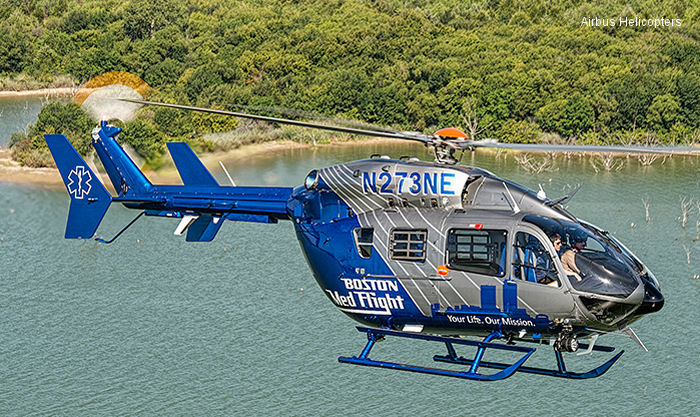 Boston MedFlight continues upgrading fleet with Airbus Helicopters EC145s