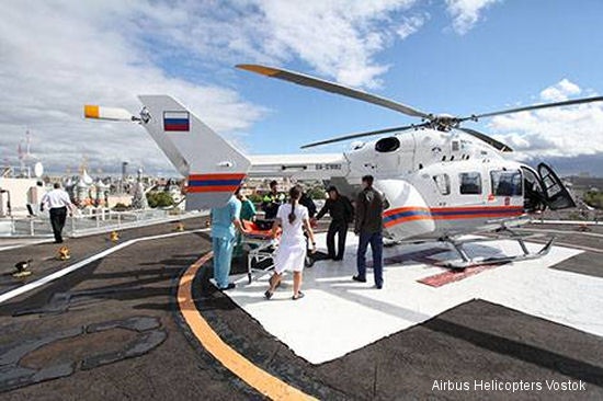 Airbus Helicopters wins tender for two medical helicopters in Russia