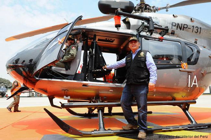 Airbus Helicopters Delivers the Fifth EC145 to Peru National Police