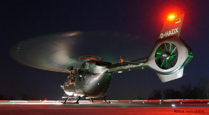 Germany Landespolizei Nordrhein-Westfalen selects the world most modern police rotorcraft: Airbus Helicopters EC145 T2