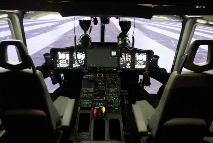 The initial full-flight simulator for Airbus Helicopters EC175 is completed by Indra for service start-up this summer