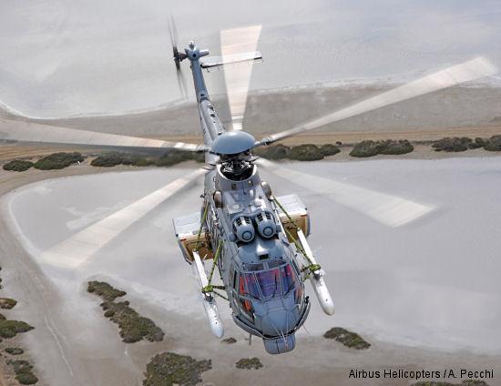 Armed EC725 undergoes flight tests in Brazil