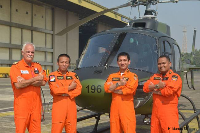 Indonesian Army receives the first of 12 Airbus Helicopters light attack Ecureuil/Fennec family rotorcraft