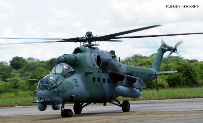 Russian Helicopters solid growth in Latin America