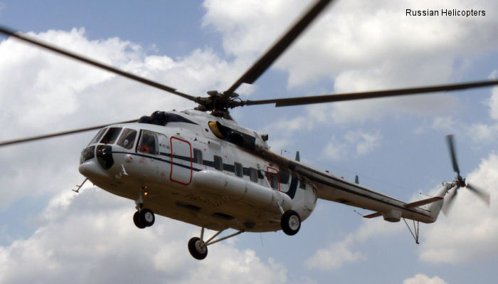 41 Russian Helicopters going to Latin America