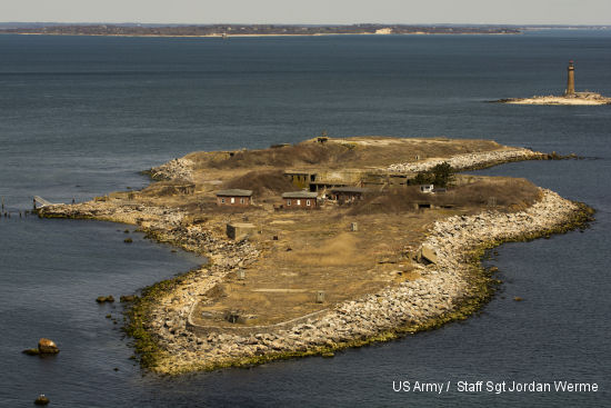 Terns nesting among military history on Great Gull Island