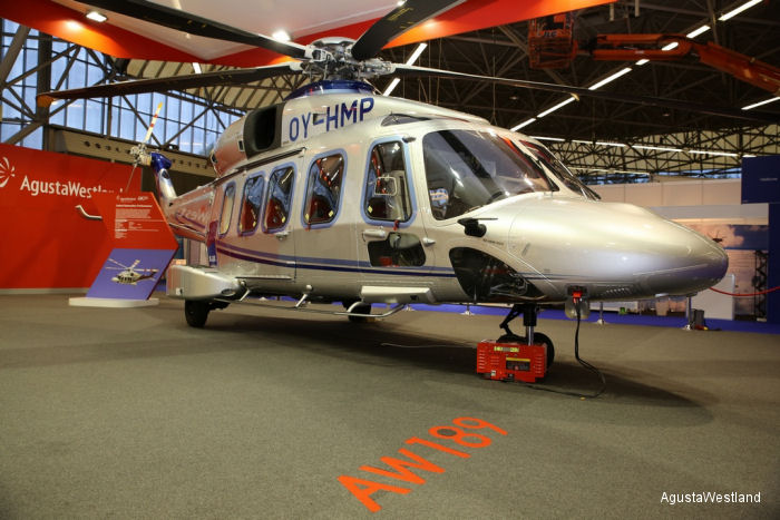 AgustaWestland Exhibits Its Market Leading Commercial Helicopters and Customer Support Solutions at Helitech International 2014