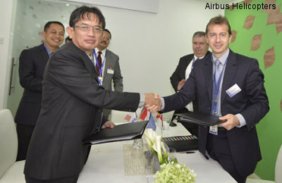PT Dirgantara Indonesia and Airbus Helicopters to jointly develop local support and services capabilities for Indonesia