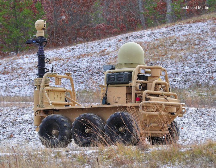 The Squad Mission Support System (SMSS) is the largest unmanned vehicle ever deployed with U.S. ground forces