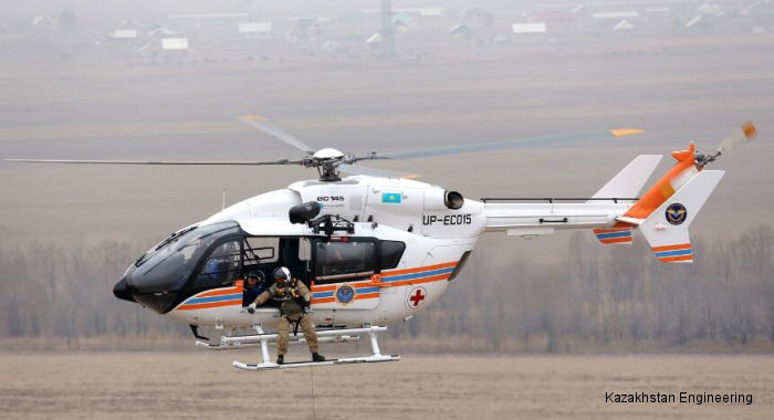 Airbus Helicopters and Kazakhstan: A mission-oriented partnership that meets the country operational heli-lift needs