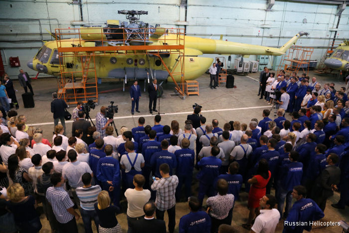 Kazan Helicopters launches new painting and finishing workshop