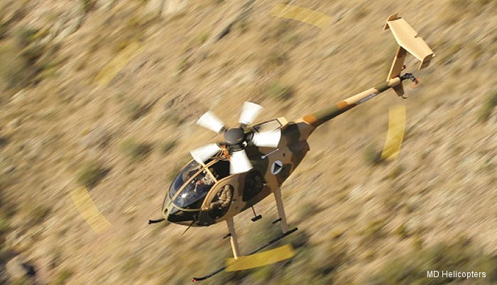 MD Helicopters awarded $44.2M contract to weaponize MD 530F fleet for Afghan Air Force