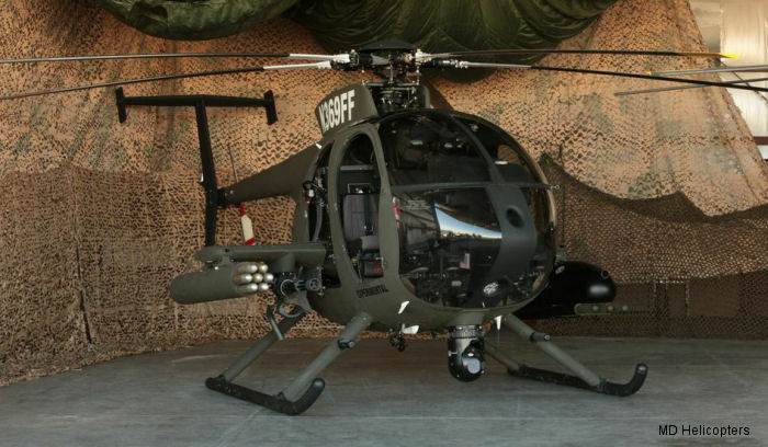 MD Helicopters <a href=/database/model/1312/>MD530G</a> prototype