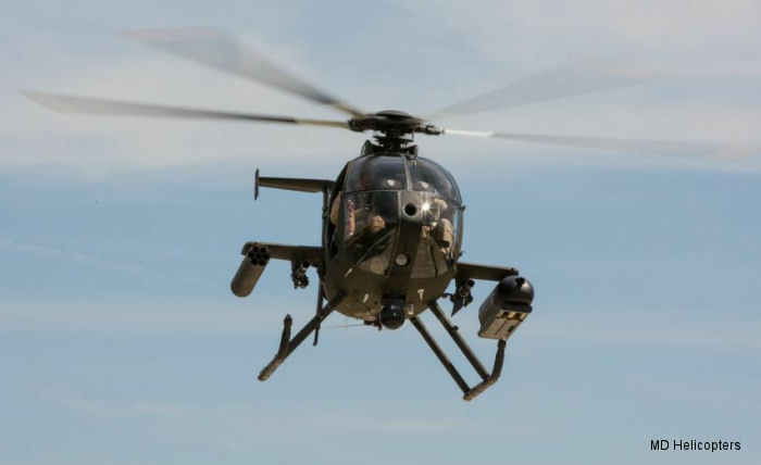 The MD530G Demonstrates Extreme Firepower And Advanced Weapons Systems Capabilities