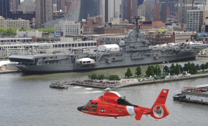 MH-65E with Rockwell Collins Radar Sensor System