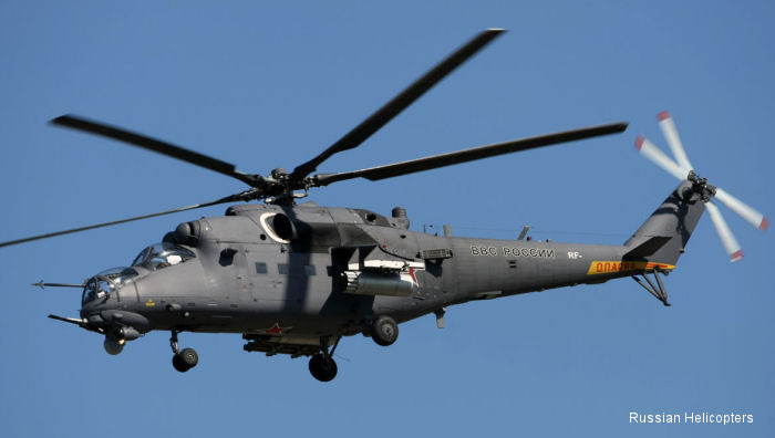 Russian Helicopters celebrates 45th anniversary of Mi-24 first flight