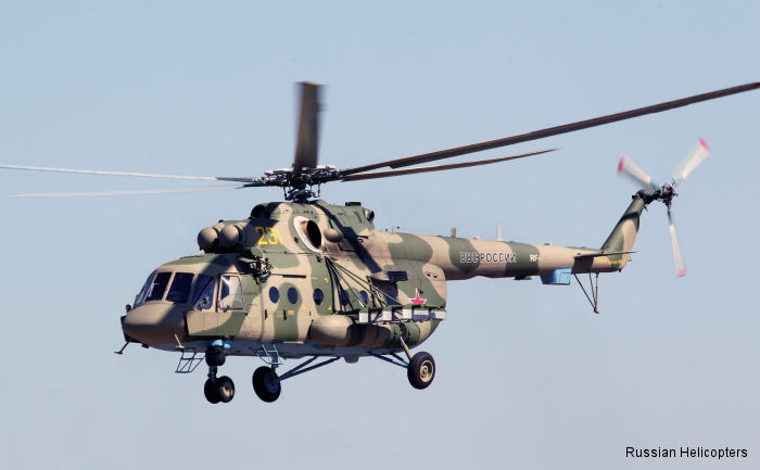 "Russian Air Force helicopters make record longest crossing during ""Vostok"" military exercises"