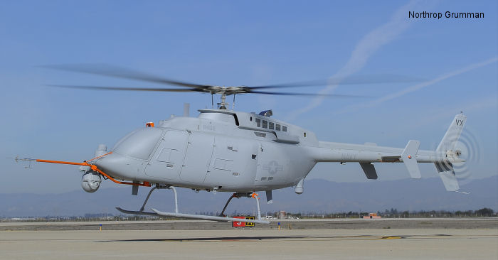 Second MQ-8C Fire Scout takes flight