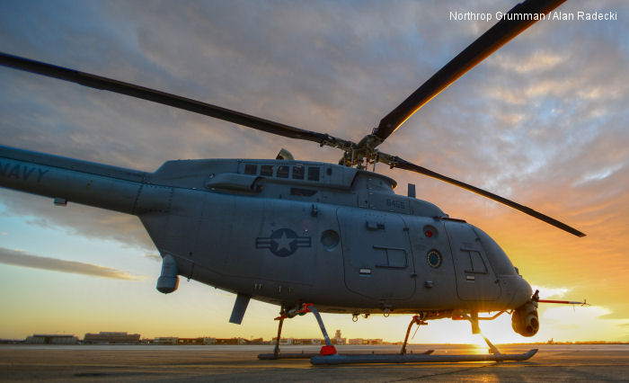 Northrop Grumman to Build Five More MQ-8C Fire Scouts for the U.S. Navy