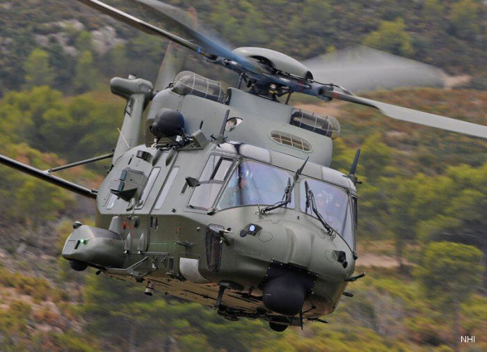 NHI Delivers The 200th NH90 Helicopter