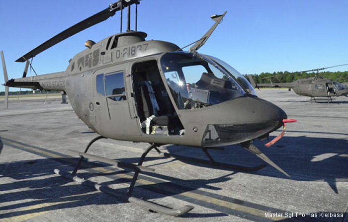 After more than four decades of service, OH-58 Kiowa helicopter at Florida Army National Guard is being retired and transferred to the Alachua County Joint Aviation Unit for Law enforcement.
