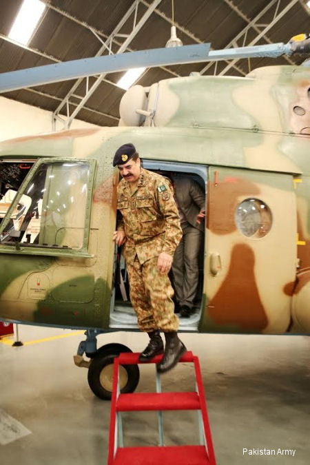 Pakistan Army completes first Mi-17 overhaul
