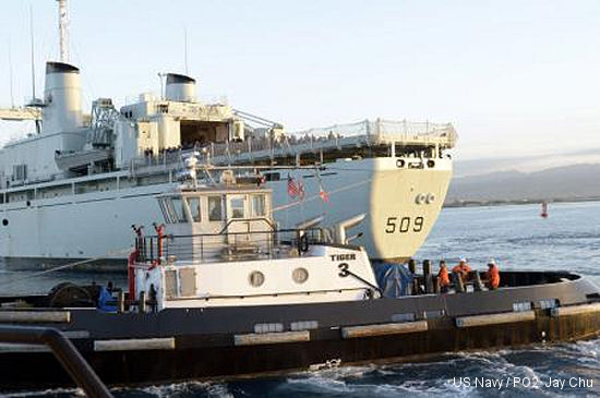 HMCS Protecteur, crew arrive safely at Joint Base Pearl Harbor-Hickam