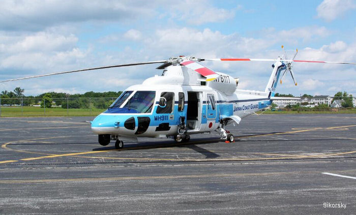 Sikorsky Delivers First SAR Configured S-76D Helicopter